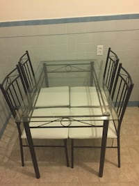 Small Kitchen Table with 4 Chairs 2411 mi