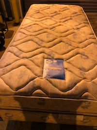 Brown and white floral mattress Metairie