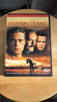 Legends of the Fall DVD Movie Laurel
