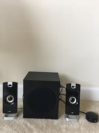 Cyber Acoustics 2.1 Subwoofer Speaker System with 18W of Power – Great for Music, Movies and Gaming (CA-3090) Alexandria, 22311
