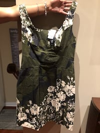 Brand new Green khaki dress from LeChateau.  Markham, L6B 0P6
