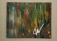 Original hand painted abstract painting Baton Rouge