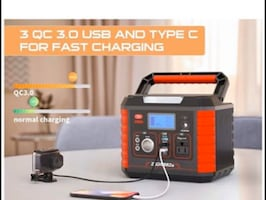 330W Portable Power Station Generator, 289WH CPAP Battery Backup Power