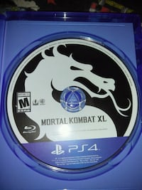 PS4 Mortal combat game disc and case Largo, 33774