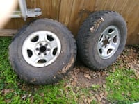"Chevy truck 16""factory wheels 2 only Houston, 77069"