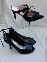 Diba Peep Toe Pumps + Unisa Open Heel Pumps South Riding