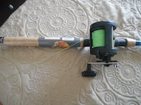 Musky fishing rod and reel Shimano and TR-1 Bass pro shops MONTREAL