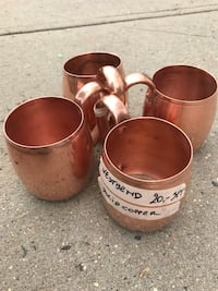 Vintage copper mugs Chevy Chase, 20815