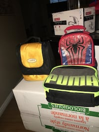 Gently used lunch bags  Pickering, L1V 6X3