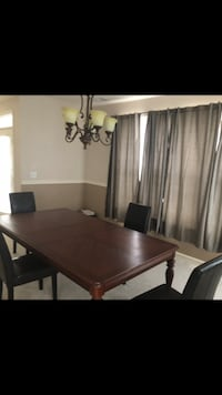 Dining room table and 4 leather chairs Freehold, 07728