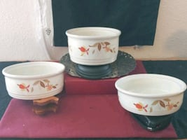 Halls Vintage China Stacking Bowls