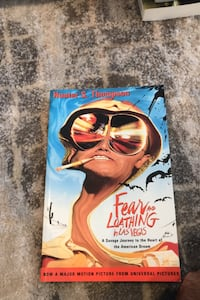 Fear and loathing in Las Vegas by: hunter s thompson Vaughan, L4L 1H8