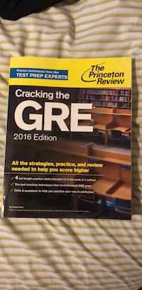 2016 GRE Study Book Bowie, 20721