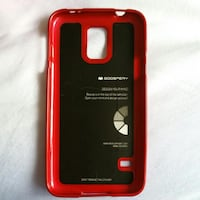 Goospery Samsung Galaxy S5 Red Phone Cover Choa Chu Kang