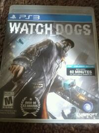 Watch Dogs PS4 game case Tacoma, 98418