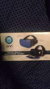 Black and blue virtual reality smartphone headset  Baltimore, 21213