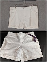 2 white shorts (sz 13/31 and size 10)- both for $10 Kitchener, N2P