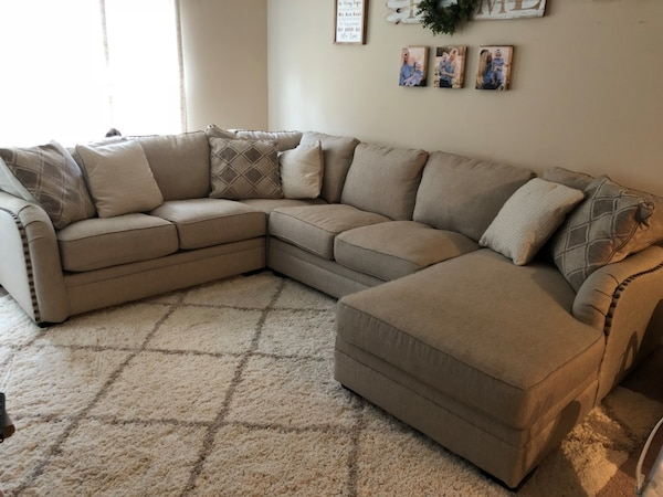 3 Months Old Ashley Luxora Sectional