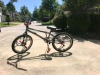 black and gray BMX bike Raleigh, 27614