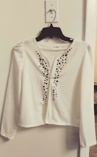 white button-up long-sleeved shirt Rockville, 20852
