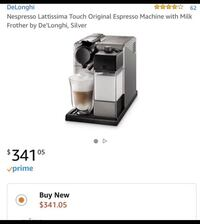 Nespresso Lattissima Touch Original Espresso Machine 2059 mi