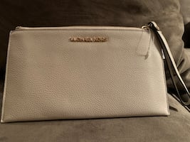 Michael Kors large wristlet or clutch style purse