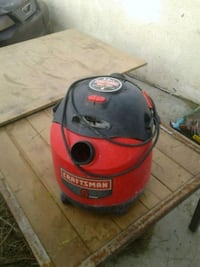 red and black Shop Vac wet and dry vacuum cleaner Cathedral City, 92234