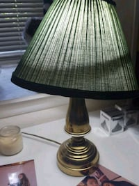 Green and gold table lamp Gaithersburg, 20886