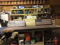 American Flag—-Distressed Wood—-Table or Wall Mount —- Wilmington