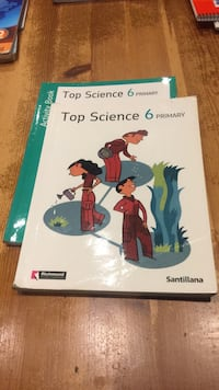 Top science 6 primaria Santillana inglés  6237 km