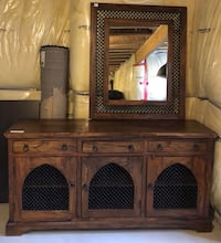 brown wooden cabinet with mirror Oakville, L6M 0W3