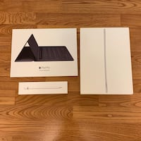 Apple iPad Pro 1st Gen. 256GB, Wi-Fi + Cellular (Unlocked), 12.9in - Silver Full Bundle 510 mi