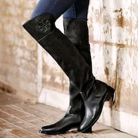 Authentic Tory Burch Simone Suede Over-the-Knee Boot Toronto
