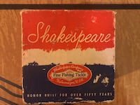 Early 1932 Shakespeare Russell 1895 Reel Ridgefield Park, 07660