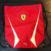 Authentic Puma gymsack Ferrari Edition  Richmond, V6X 2H2