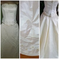 2 piece wedding strapless out fit Toronto, M9W 2V7