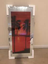 "Waterfall picture ( light up & elec.) 39""x 19"" brand New still rapped in plastic  Bowie, 20721"
