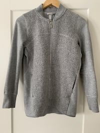 Lululemon wool zip up