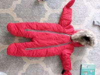 6 to 12 month snowsuit for baby Calgary, T2K 3Y4