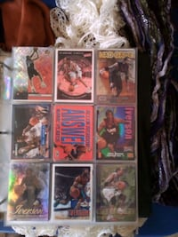 Book of basketball cards  Nyssa, 97913