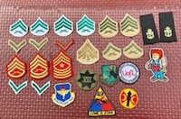 Mint patch collection various military college medical -23 total