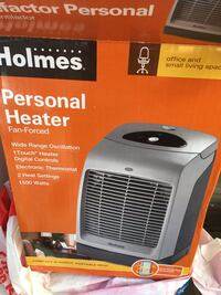 Holmes Personal Heater box