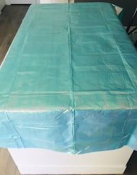 Blue monochromatic Table cover Rectanggular Nanaimo, V9R 6H4