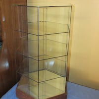 Glass Hexagon Store Display Case Mississauga, L4X 1S2