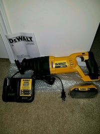 NEW Dewalt 20v MAX reciprocating saw sawz all set Ashburn