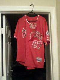 Official MLB Trout Jersey Henderson, 89074