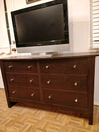 brown wooden dresser with flat screen television Annandale, 22003