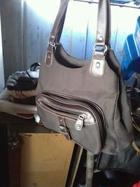 black and gray leather bag High Point