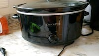 black and gray Crock-Pot slow cooker Laval, H7T 1X4