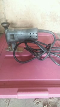 black and gray corded power tool Springfield